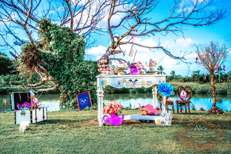 Whimsical Alice in Wonderland themed Photo Shoot Caribbean