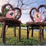 garden-caribbean-wedding-alice-in-wonderland-52