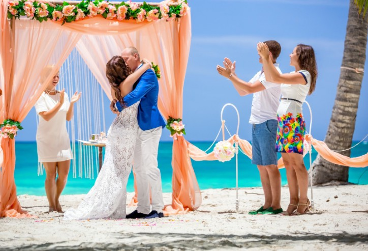 VIP Wedding ceremony in Dominican Republic, Anna & Alexey