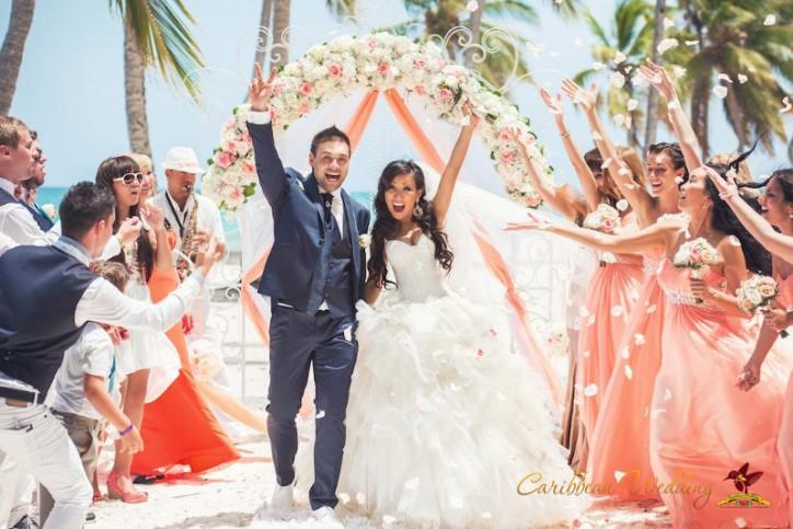 VIP wedding ceremony in Shabby chic style
