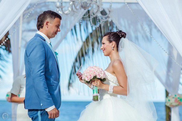 Wedding ceremony in Tiffany style {Alex&Nastya} – Read more