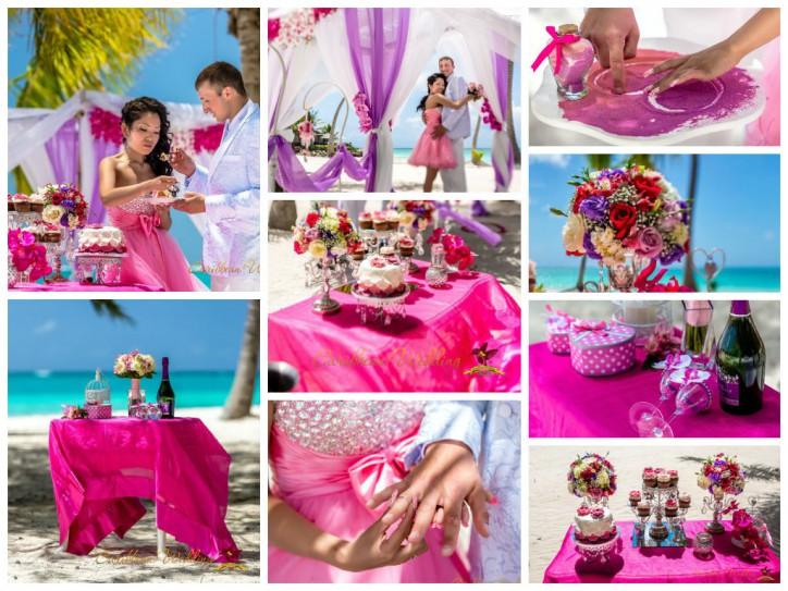Wedding ceremony in Shabby chic Style