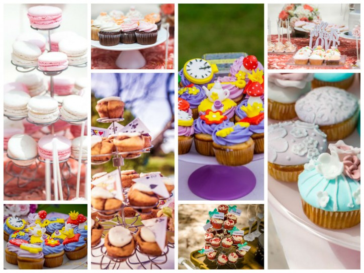 Cupcakes from Caribbean Wedding