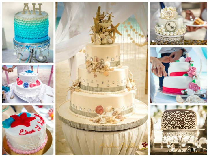 Wedding cakes from Caribbean Wedding
