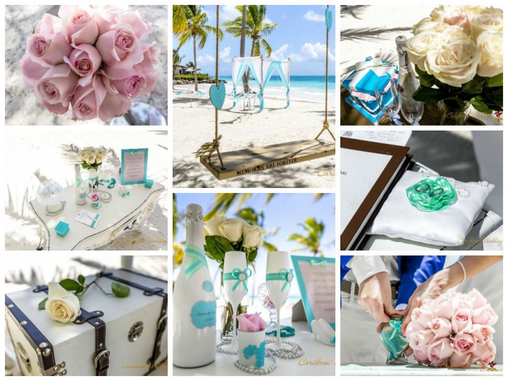 Special wedding ceremony with Caribbean Wedding