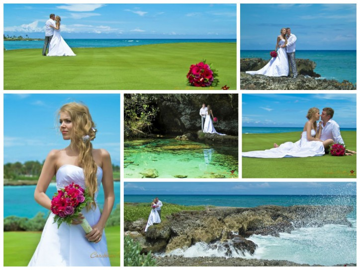 WEDDING PHOTO SET IN CAP CANA