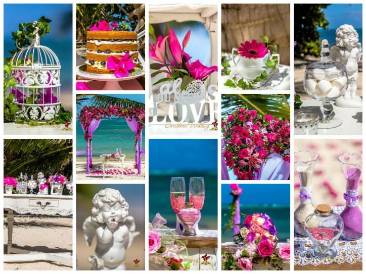 VIP wedding design (Shabby chic style)