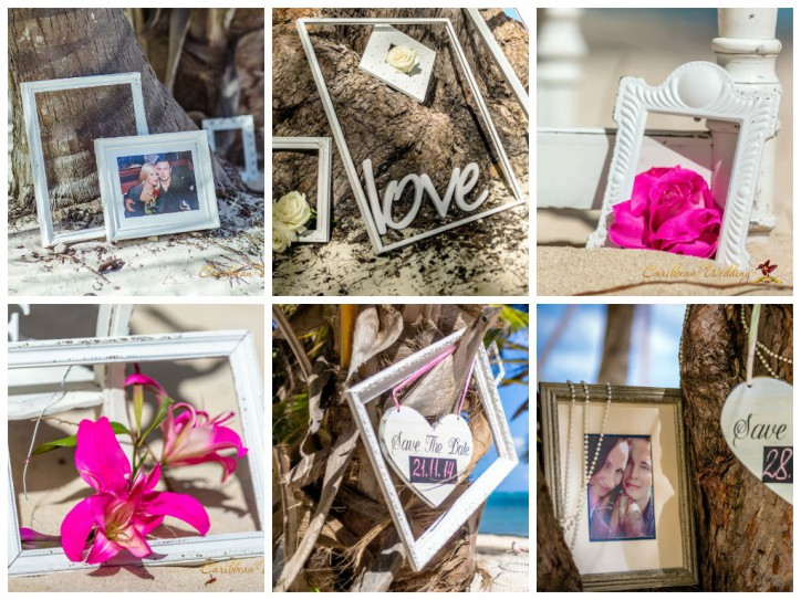 Frames for wedding decoration