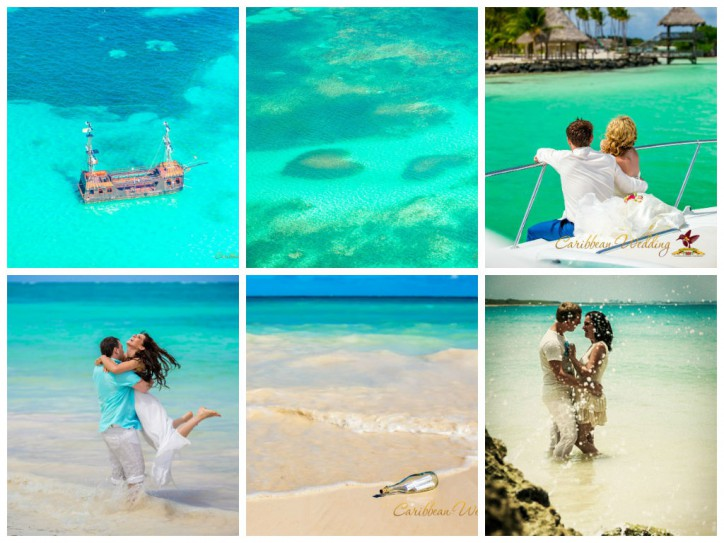 Tropical paradise for newlyweds
