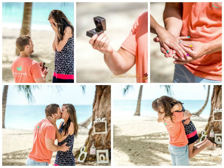 Marriage proposal in the Dominican Republic