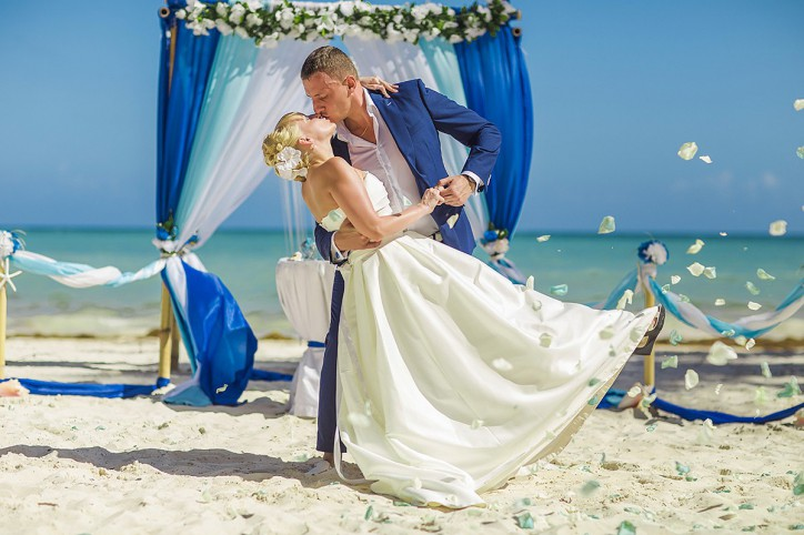 Official wedding in Dominican Republic
