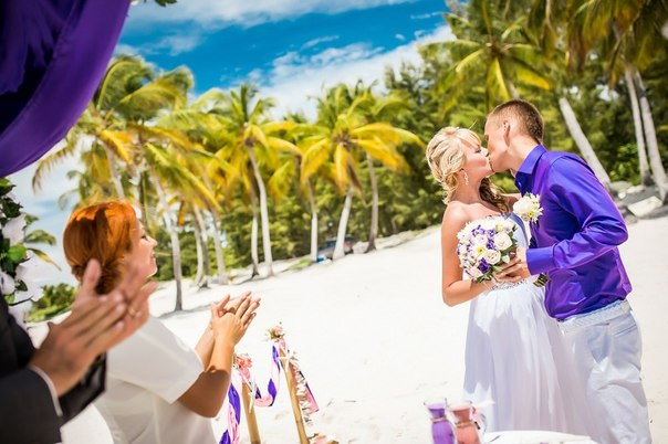 Official Wedding ceremony in Dominican Republic