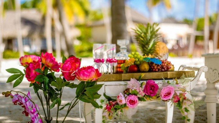 VIP Tropical Wedding Style
