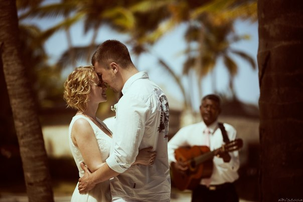Wedding photo in Dominicana
