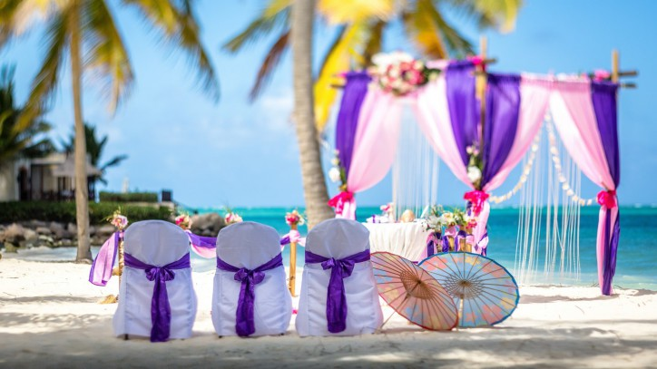 Tropical Wedding in Dominican Republic
