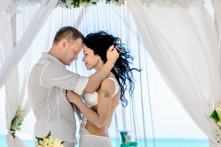 Officail Wedding Ceremony in Dominican Republic, Cap Cana Beach and Love Story