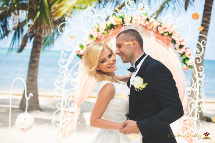 Pavel and Julia's Caribbean Wedding in the Dominican Republic! – Read more