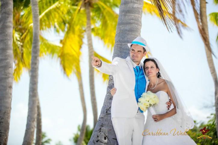 Love story on the beach