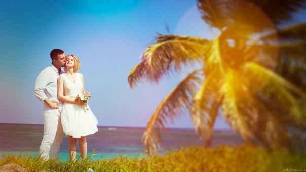 Wedding photo shoot in Caribbean