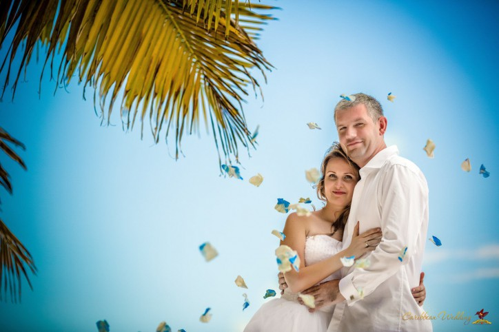 Wedding ceremony on the Saona island
