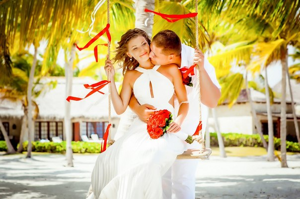 Wedding ceremony and photo session