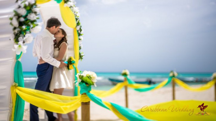 Wedding on the Saona Island