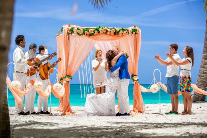 VIP Wedding ceremony in Dominican Republic, Anna & Alexey