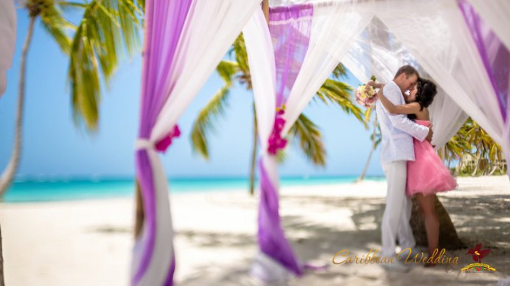 "VIP wedding ""Pink orchid"" in Dominican Republic {Maxim+Julia}"