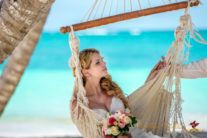 Wedding ceremony in Dominican Republic and yacht trip