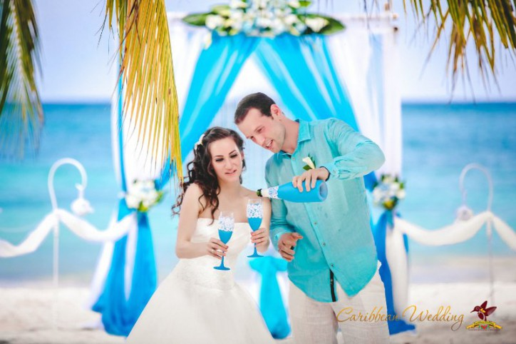 VIP wedding ceremony in Dominican Republic {Augustine+Andrew}