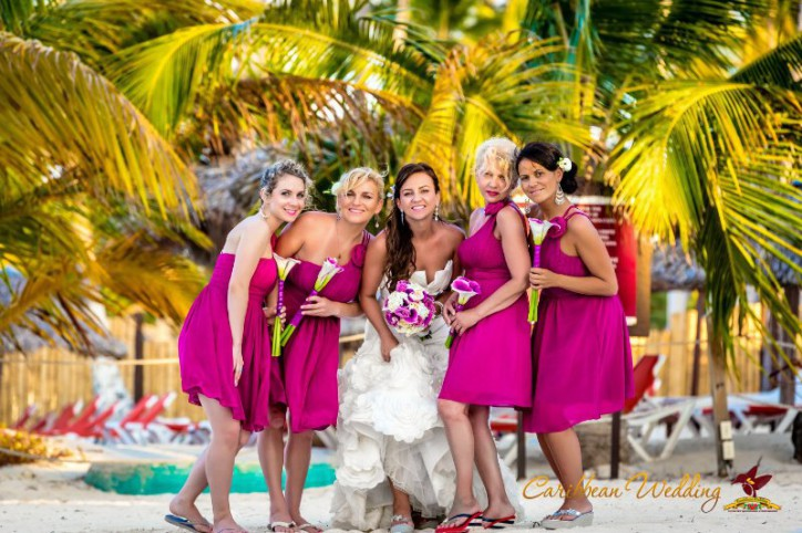 Bridesmaids on our weddings