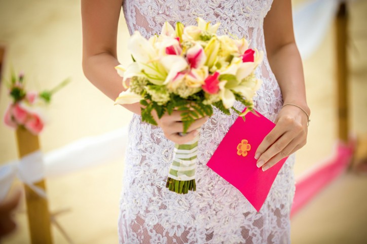 Symbolic Wedding Ceremony and Vows Renewal in Dominican Republic