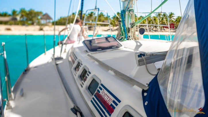 Wedding on a yacht in Dominican Republic – Read more