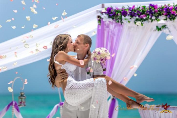 Wedding in Dominican Republic {Angelica + Sergey}