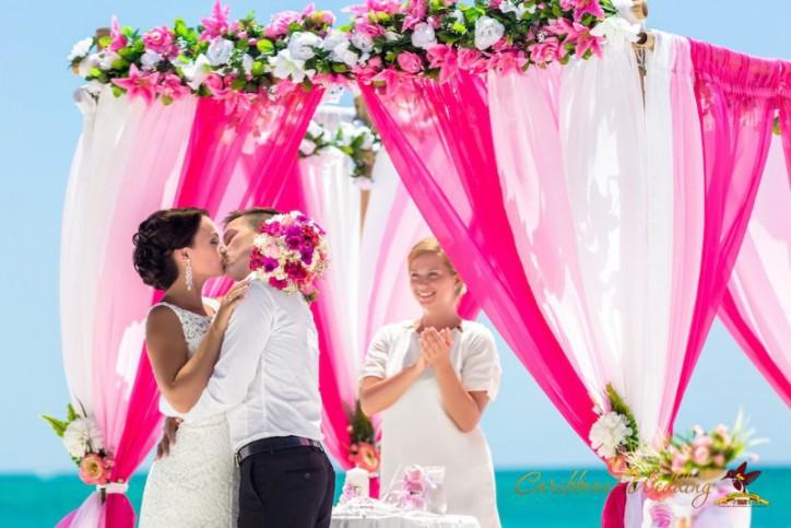 Wedding in Dominican Republic {Alexey + Julia}