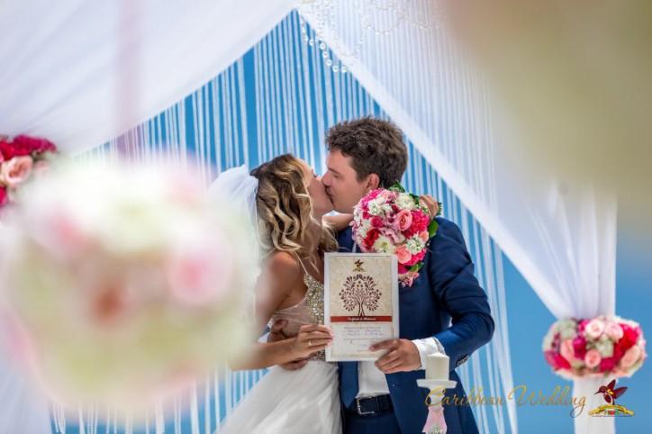 "VIP wedding ceremony in ""Angel"" style"